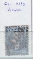 FRANCE - Dpt ISERE - S/22  - Napoleon III - Oblit GC 4199 (  Vienne ) - Marcophilie (Timbres Détachés)