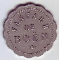 Monnaie De Nécessité - LOIRE 42 - Boën - Fanfare De Boën - 25c - Monetari / Di Necessità