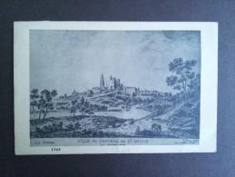 DEPT 39 -  Ville Et Château De SAINT AMOUR Au Moyen âge. - Meilleur Prix - Ça - - Other Municipalities