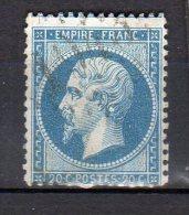 Napoléon III (Empire Français) N° 22* Obl. - 1853-1860 Napoleon III