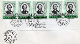 1959 CARTOLINA - Liberia
