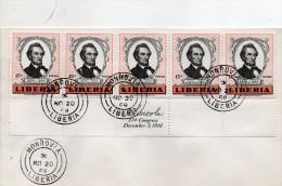 1958 CARTOLINA - Liberia