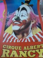 Circus Cirque Zirkus Circo Affiche  Poster Albert Rancy - Posters