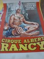 Circus Cirque Zirkus Circo Affiche  Poster Albert Rancy - Affiches