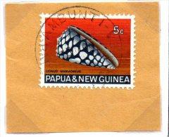 PNG Papua New Guinea AMBUNTI Town/village Cancellation, 1968 - Papua New Guinea