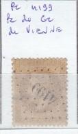 FRANCE - Dpt ISERE - S/28  - Napoleon III Lauré - Oblit  PC Du GC 4199 (  Vienne  ) - Marcophilie (Timbres Détachés)