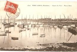 VENTE DIRECTE - PORT-LOUIS - ASPECT Du PORT - Bateaux à Marée Basse - ELD 2806 - Port Louis