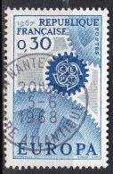 Europa 1967  N° 1521 Obl. - Oblitérés