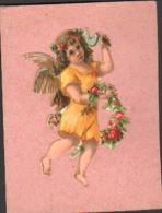 DECOUPIS - Petit Angelot Avec Guirlande De Roses, Faucille - Angels
