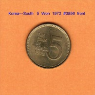 KOREA---South    5  WON  1972   (KM # 5a) - Korea, South