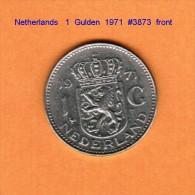 NETHERLANDS    1  GULDEN  1971   (KM # 184.a) - [ 3] 1815-… : Kingdom Of The Netherlands