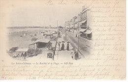 85 LES SABLES D OLONNE - (1900) Le Remblai Et La Plage - D19 1123 - Sables D'Olonne