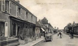 Digny ( E Et L ) - Vue Prise Grande Rue , Animée - 28 - - Autres Communes