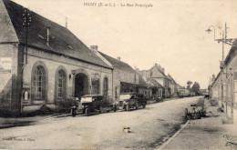 Digny ( E Et L ) - La Rue Principale , Animée - 28 - - Autres Communes