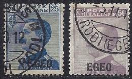 ITALY EGEO 1912 Nº 1/2 - Ägäis
