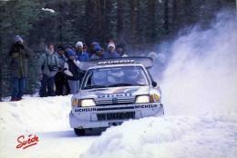 "SPORT AUTOMOBILE  L 15    ""  PEUGEOT SUEDE   / PILOTE PIIRONEN / KANKKUNEN  ""     CPM / CPSM  10 X 15 - Rally's"