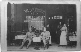 Carte Photo : Vins Café, Restaurant De La Ville De Lannion, Maison Guézennec - Lannion