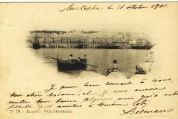 Alger Vue Générale A. Vollenweider  Scans Recto-verso - Alger