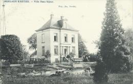 """Berlaar - Villa """" Beau Séjour """"  - 1909 ( Verso Zien ) - Berlaar"""