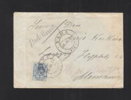 Carta 1921 Sama Oviedo - 1889-1931 Königreich: Alphonse XIII.