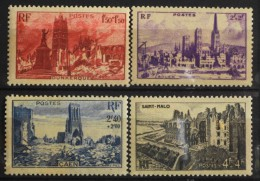 FRANCE 1945 - Du N° 744 Au 747 - 4 Timbres NEUFS** Y&T 2,60€ - France