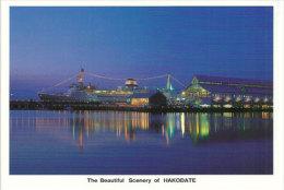 La Belle Baie Et Port D'Hakodate, île D´Hokkaido, Carte Postale Neuve. - Japan