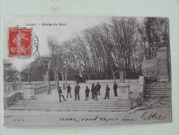 Lunel Entree Du Parc 1909 - Lunel