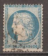 Frankreich 1870 - Michel 34a O - 1870 Besetzung Von Paris