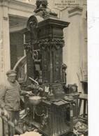 Lot De 10 Cartes - Paris - Hotel Des Monnaies: Presses, Vérification, Balancier, Fours .... - Coins (pictures)
