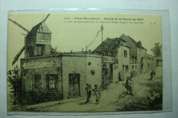 D 75 - Paris - Vieux Montmartre - Les Moulins En 1850 - France