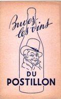 Buvard- Vins Du Postillon - V