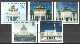 Vatican ATM 2000   Mi 1-5 MNH(**) - Machine Stamps (ATM)