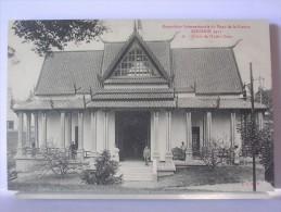 59 - EXPOSITION INTERNATIONALE DU NORD DE LA FRANCE - ROUBAIX 1911 - 26 - LE PALAIS DE L'INDO-CHINE - Roubaix