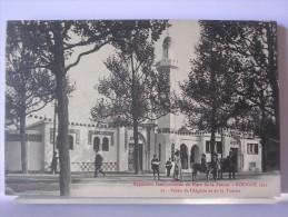 59 - EXPOSITION INTERNATIONALE DU NORD DE LA FRANCE - ROUBAIX 1911 - 22 - PALAIS DE L'ALGERIE ET DE LA TUNISIE - ANIMEE - Roubaix