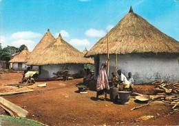 Afrique - Côte D´Ivoire  Vue Typique D´un Village * PRIX FIXE - Côte-d'Ivoire