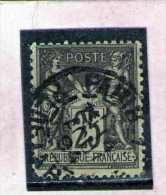 1884 - Groupe Allegorique / SAGE  Tip II  Mi No 80 Et Yv No 97 - 1876-1898 Sage (Type II)