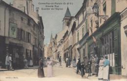 95 - CORMEILLES EN PARISIS  GRANDE RUE QUARTIER DE L´EGLISE - Cormeilles En Parisis