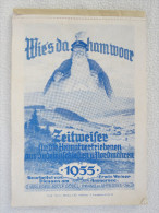 """""""Wie´s Daham Woar"""" Zeitweiser Für Die Heimatvertriebenen Aus Sudetenschlesien Und Nordmähren, Von 1955 - Calendars"""