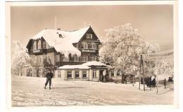 Brotbaude Brückenberg Im Riesengebirge - Ski - Old Card - Schlesien