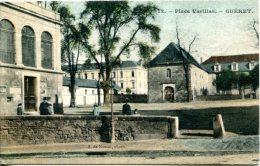 GUERET (23) - Place Varillas - Convoyeur-ligne Guéret à St Sébastien - Guéret