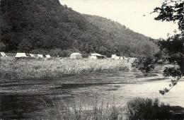 POUPEHAN : Terraon De Camping Ile Des Goutelles - RARE VARIANTE - Cachet De La Poste 1964 - België