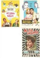 3 Carteles De Cine Diferentes. - Autres Collections