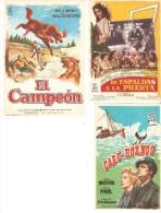 3 Carteles De Cine Diferentes.1 - Autres Collections