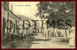 CARTAXO - RUA DE SAO SEBASTIAO - 1910 PC - Santarem