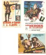 3 Carteles De Cine Diferentes.3 - Altre Collezioni
