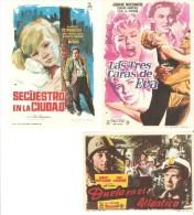 3 Carteles De Cine Diferentes.6 - Autres Collections