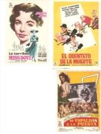 3 Carteles De Cine Diferentes.7 - Autres Collections