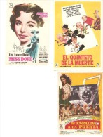 3 Carteles De Cine Diferentes.7 - Otros