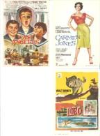 3 Carteles De Cine Diferentes.9 - Autres Collections