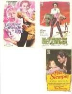 3 Carteles De Cine Diferentes.10 - Altre Collezioni